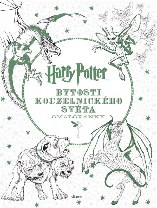 Livre De Coloriage Harry Potter Les Créatures Le Miroir