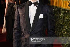 arrives at The 62nd London Evening Standard Theatre Awards, recognising excellence from across the world of theatre and beyond, at The Old Vic Theatre on November 13, 2016 in London, England.