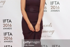 attends the 2016 IFTA Film & Drama Awards at Mansion House on April 9, 2016 in Dublin, Ireland.