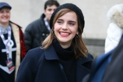 Emma Watson attends the Women's march in Washington D.C