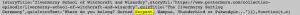 Capture d'écran code source pottermore ilvermorny