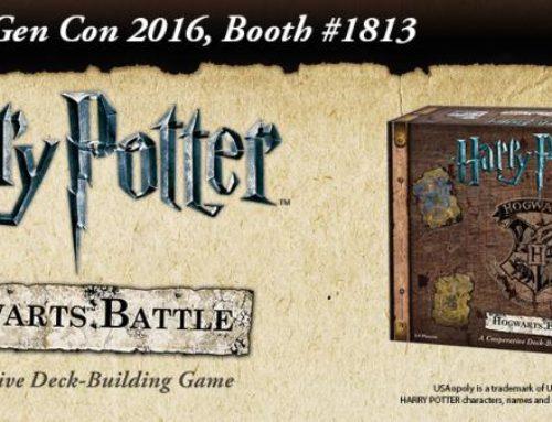 Un nouveau jeu de plateau Harry Potter pour Septembre !