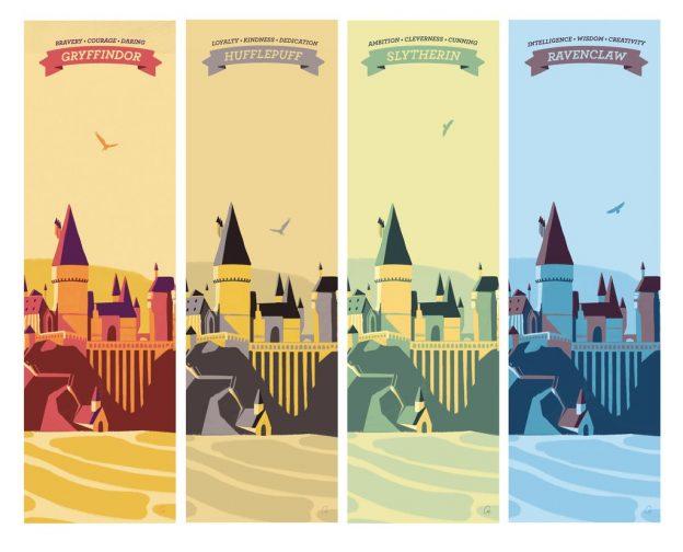 Univers Harry Potter Affichez avec fierté votre Maison