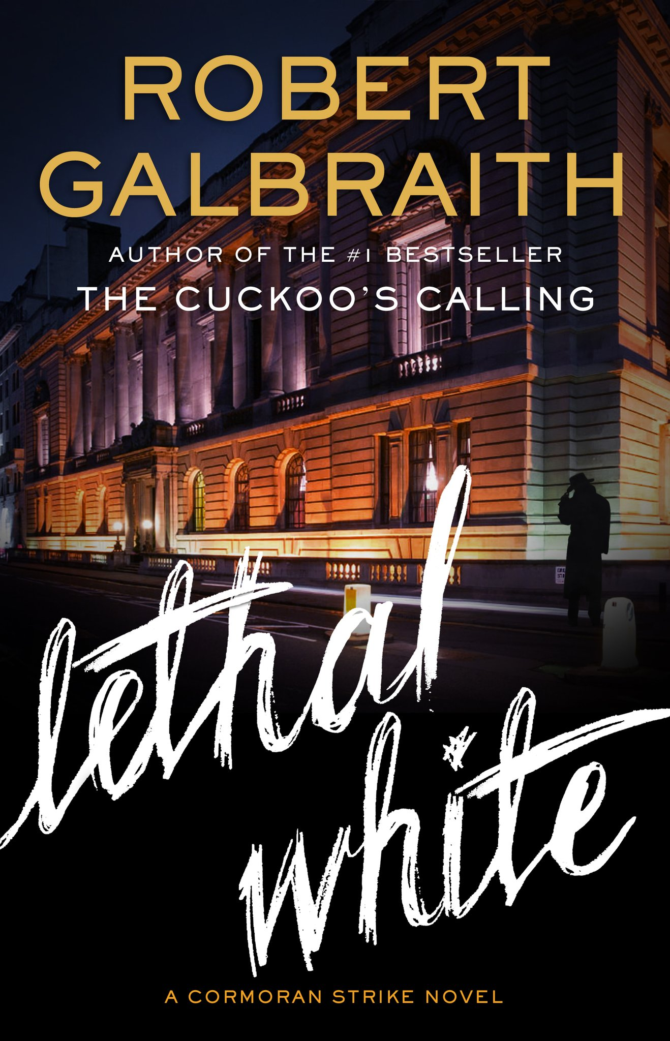Lethal White is the fourth book in the Cormoran Strike series from the international bestselling author Robert Galbraith I seen a kid killedHe strangled it up