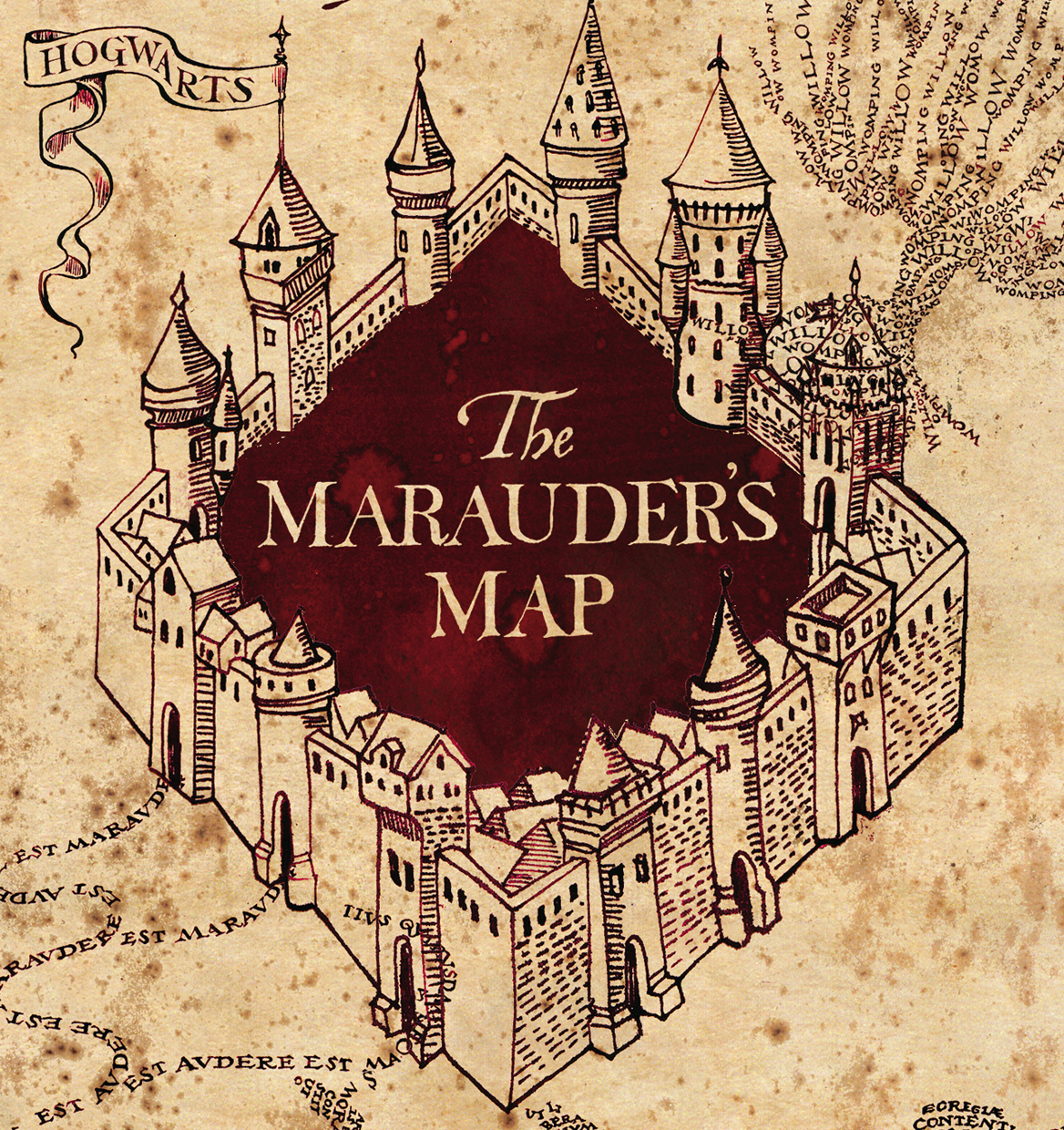 Images Of Marauders Map Harry Potter Rock Cafe