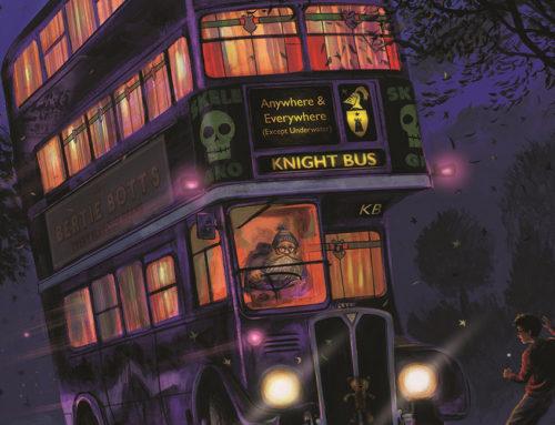 Les 9 premières pages exclusives de Harry Potter 3 illustré par Jim Kay !
