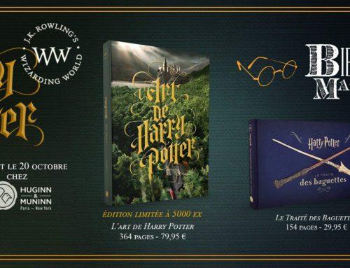 Confirmation de la sortie des livres dérivés Harry Potter chez Huginn&Muninn !