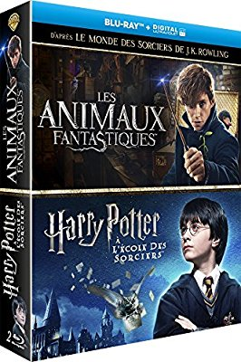 univers harry des coffrets blu ray harry potter les animaux fantastiques. Black Bedroom Furniture Sets. Home Design Ideas