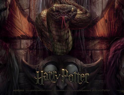 """Dylan Pierpont et ses """"Scaries"""" Potter !"""