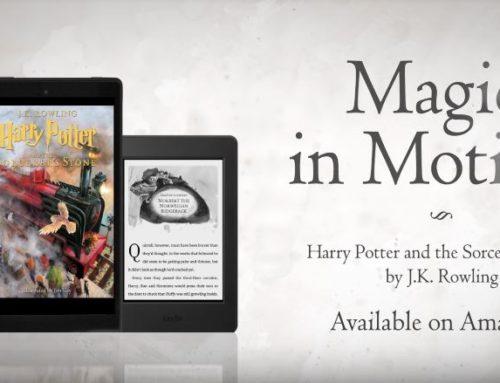 """Lancement de l'eBook animé par Kindle du """"Harry Potter à l'École des Sorciers"""" illustrée par Jim Kay"""