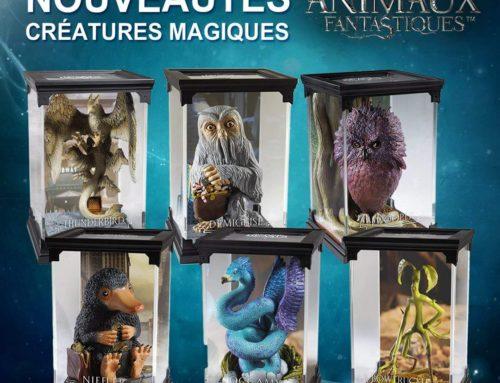"""Nouvelles statuettes """"Les Animaux Fantastiques"""" chez Noble Collection !"""