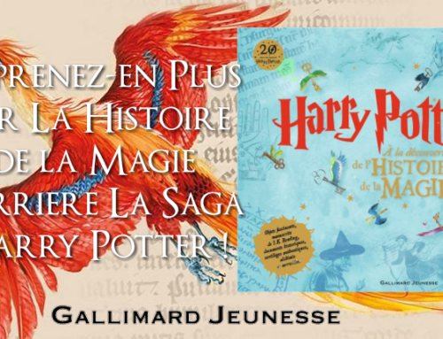 Exclusif : L'histoire de la magie dans la saga Harry Potter arrive chez Gallimard !