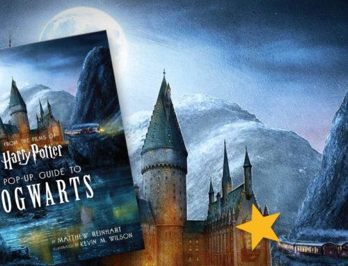 Un nouveau livre pop-up Harry Potter sur Poudlard arrive bientôt !
