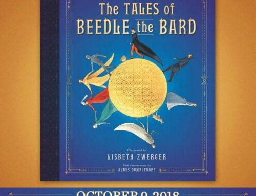 """Exclusif : Scholastic s'apprête à lancer sa propre édition illustrée des """"Contes de Beedle le Barde"""" !"""