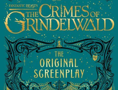 """La couverture du livre-scénario du film """"Les Animaux Fantastiques : Les Crimes de Grindelwald"""" dévoilée !"""