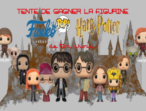 CONCOURS : Gagnez la figurine 'Pop !' Harry Potter par Funko, de votre choix !