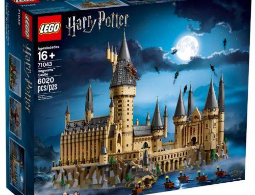 Lego lance un nouveau Château Poudlard