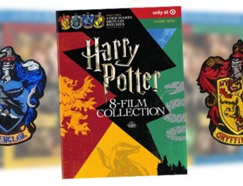 Des coffrets DVD/Blu-ray des films Harry Potter aux couleurs des 4 Maisons, en exclusivité chez Target !