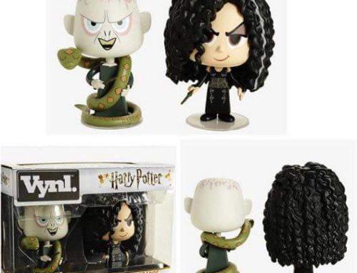 Troisième pack duo 'Vynl.' de Funko : Voldemort et Bellatrix Lestrange !