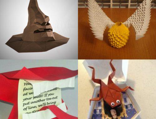 Scholastic vous proposera bientôt d'apprendre l'Origami avec Harry Potter !