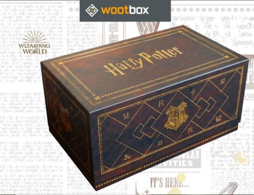Nouvelle Wootbox Harry Potter