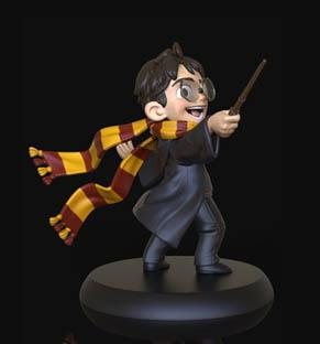 'Q-fig' - Harry Potter's First Spell