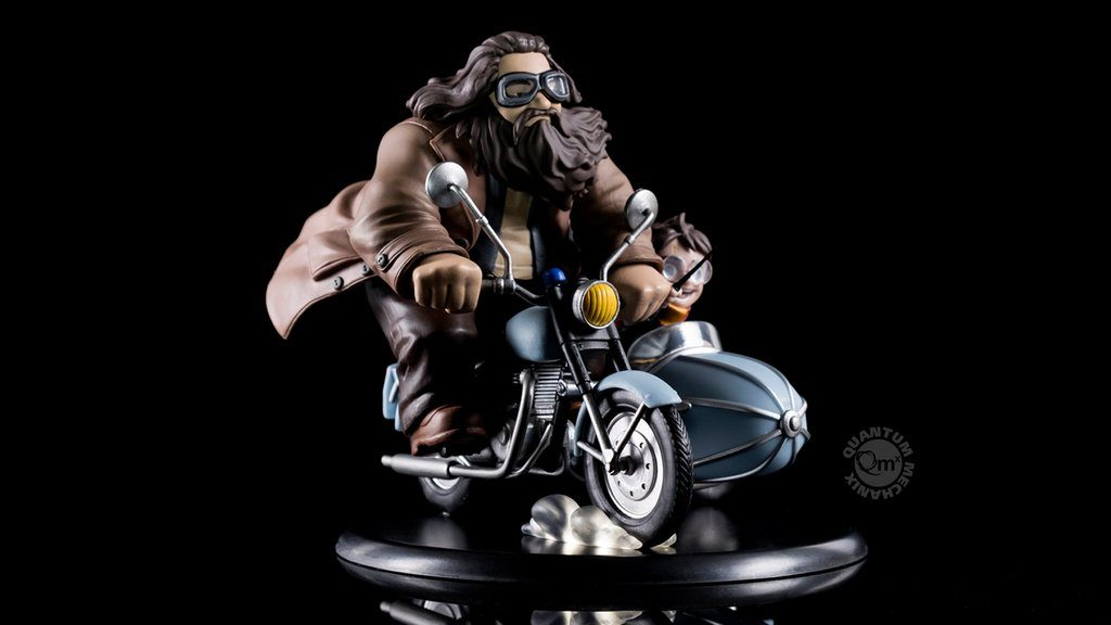 'Q-fig' - Hagrid & Harry inside the side-car